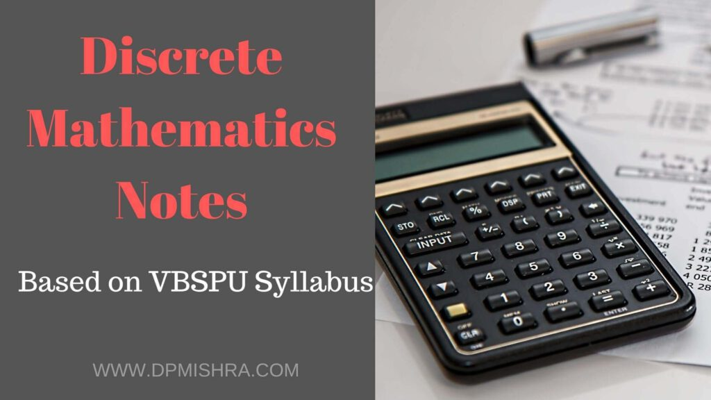 Discrete Mathematics Notes
