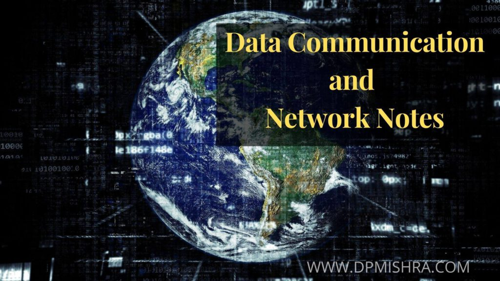 data communication and networking notes