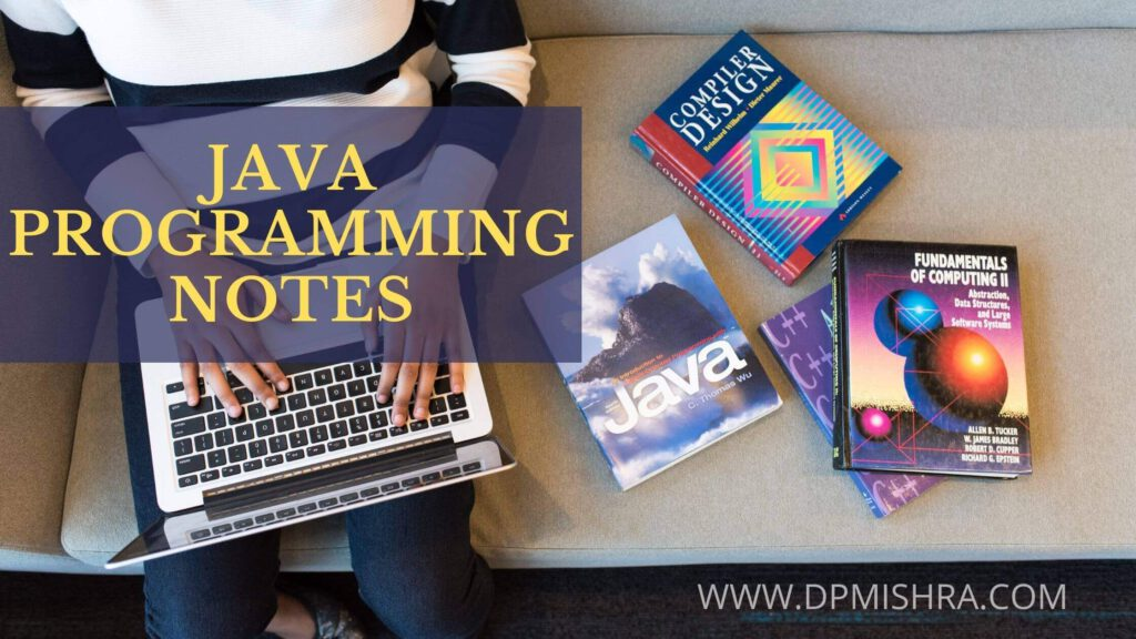 Java Programming Notes PDF